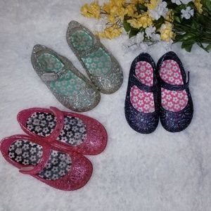 Other - Jelly Shoes Baby Size 6 Bundle Of 3 Pairs